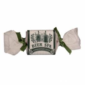 Ručne vyrábané tuhé mydlo - bonbón - Beer Spa 30 g