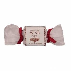Wine SPA ručne tuhé vyrábané mydlo  30 g