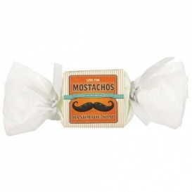 Ručne vyrábané tuhé mydlo  bonbón 30g - Mostachos
