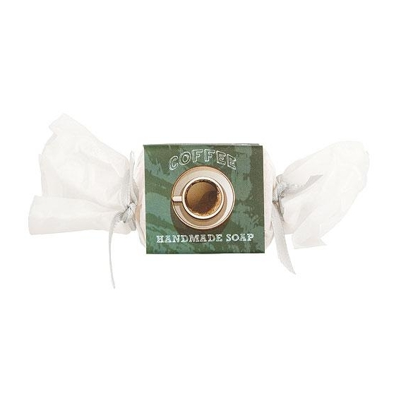 Ručne vyrábané tuhé mydlo bonbón 30g -Coffee