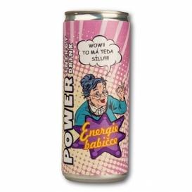 Bohemia Darčekov - energy drink pre babičku 250 ml