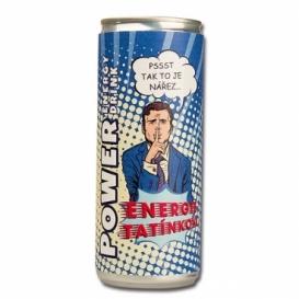 Bohemia Darčekov - energy drink pre ocka 250 ml