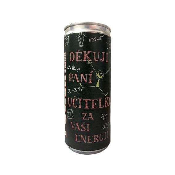 Bohemia Gifts - energetický nápoj pro paní učitelku 250 ml
