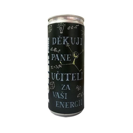 Bohemia Gifts - energetický nápoj pro pana učitele 250 ml