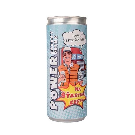 Bohemia Dary - energetický nápoj 250 ml pre vodiča - energie pre šťastný cesty