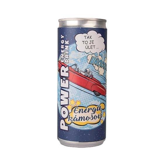 Bohemia Dary - energetický nápoj 250 ml pre priateľa - energie pal