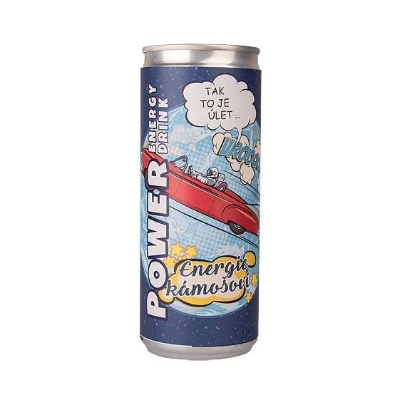 Bohemia Gifts - energetický nápoj 250 ml pro kamaráda - energie kámošovi