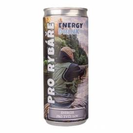Energetický nápoj 250 ml pre rybárov (verzia v SK)
