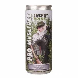 Energetický nápoj 250 ml pre poľovníkov (verzia v SK)