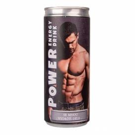 Bohemia Gifts - energetický nápoj 250 ml - energie pro ženu - se mnou vydržíš