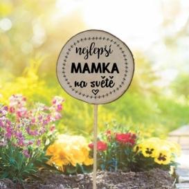 Bohemia Darčeky - zapichovátko do kvetináčov pre mamu