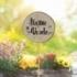Bohemia Gifts - zapichovátko do květináče Šťastné a veselé
