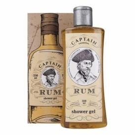 Bohemia Gifts - dárkový sprchový gel 250 ml v krabičce - rum