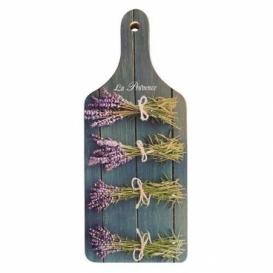 Bohemia Gifts - dekorační kuchyňské prkénko s potiskem - levandule - La Provence