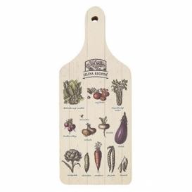 Bohemia Gifts - dekorační kuchyňské prkénko s potiskem - zelená kuchyně
