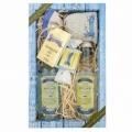 Darčekové balenie kozmetiky z Mŕtveho mora - gél + šampón + mydlo + soľ