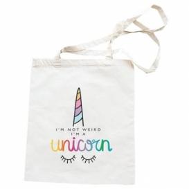 Látkové taška 42 x 38 cm - Unicorn