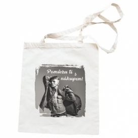 Látková taška 42 x 38 cm - Pomůžu ti s nákupem