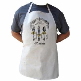 Bohemia Gifts - kuchyňská zástěra pro dědu