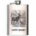 Bohemia Gifts - placatka na alkohol pro myslivce 200 ml - jelen