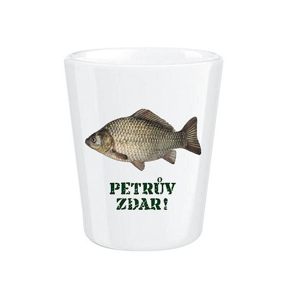 Bohemia Darčeky - porcelán dummy pre rybárov - kapor