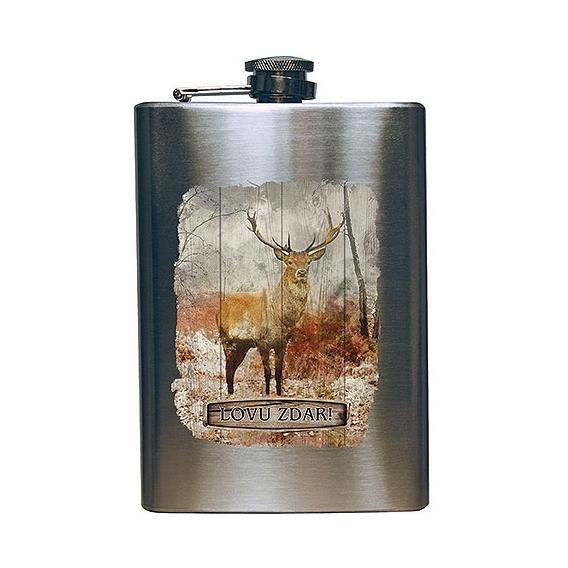 Bohemia Gifts - placatka na alkohol 200 ml pro myslivce