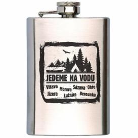 Bohemia Gifts - placatka na alkohol 200 ml - jedeme na vodu