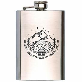 Bohemia Gifts - placatka na alkohol 200 ml - hory volají