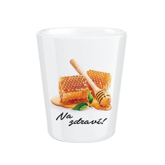 Bohemia Gifts - keramický panák 0,5 cl - medovina