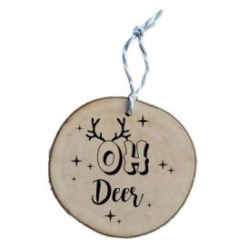 Bohemia Darčeky - drevené vianočné ozdoby - Oh Jeleň