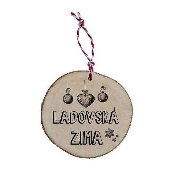 Bohemia Darčeky - drevené vianočné ozdoby - Ladovská zima