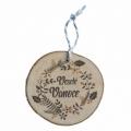 Bohemia Darčeky - drevené vianočné ozdoby - Veselé Vianoce - veniec