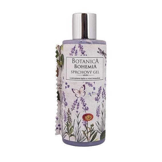 Botanica Bohemia krém, sprchový gél 200 ml - levanduľa