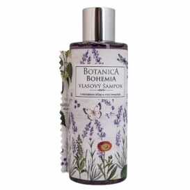 Botanica Bohemia vlasy šampón 200 ml - levanduľa
