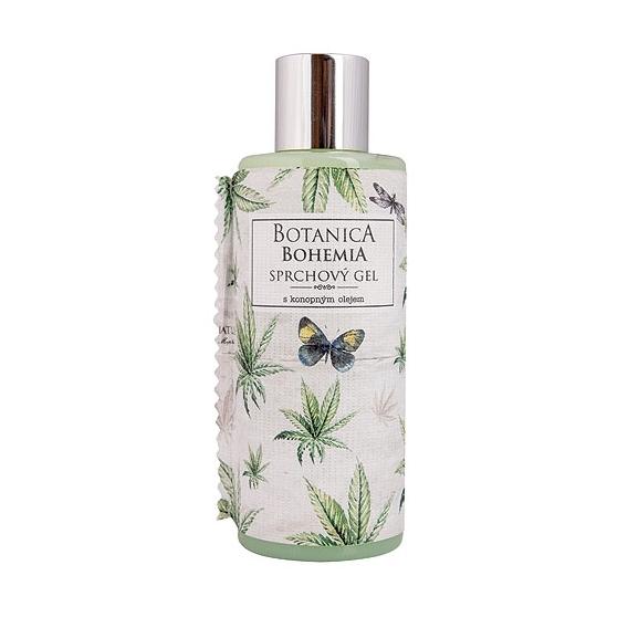 Botanica Bohemia konopný sprchový gel 200 ml - cannabis