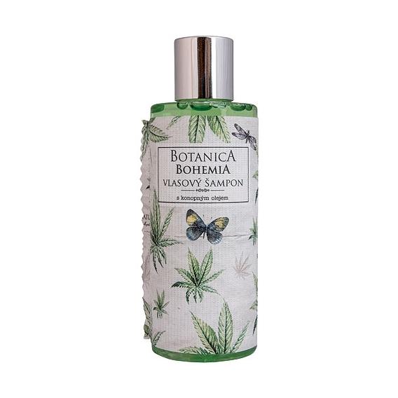 Botanica Bohemia konope vlasy šampón 200 ml - konope