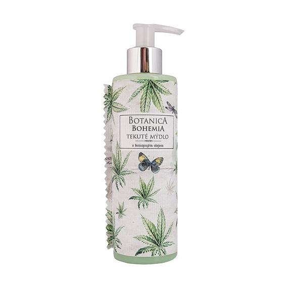 Botanica Bohemia konopné tekuté mýdlo 250 ml - cannabis