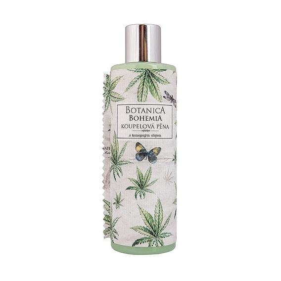 Botanica Bohemia konopná koupelová pěna 250 ml - cannabis