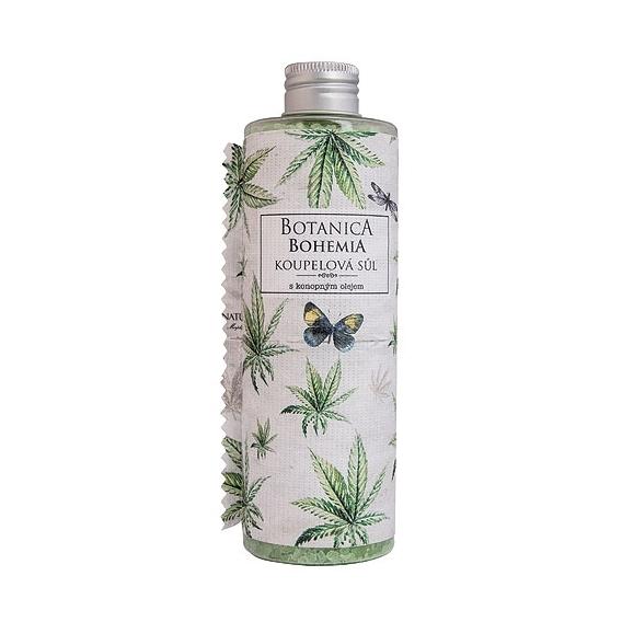 Botanica Bohemia konopná koupelová sůl 320 g - cannabis