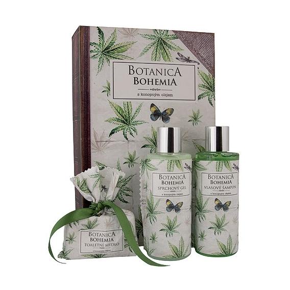 Botanica Bohemia kozmetický balíček - konope
