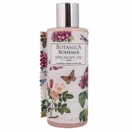 Botanica Bohemia krémový sprchový gel 200 ml - šípky a růže