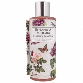 Botanica Bohemia vlasy šampón 200 ml - rose hips a rose
