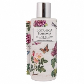 Botanica Bohemia tělové mléko 200 ml - šípky a růže