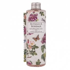 Botanica Bohemia kúpeľové soli 320 g - vres a rose