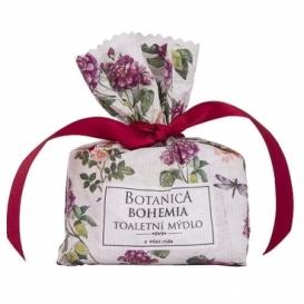 Botanica Bohemia ručně vyráběné tuhé mýdlo 100 g - růže