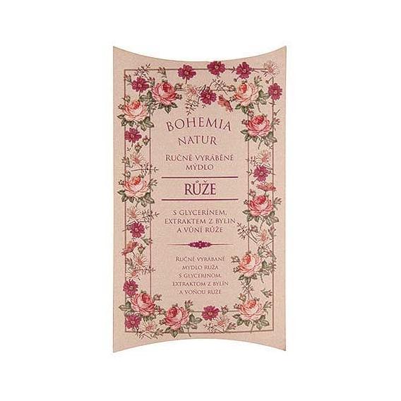 Bohemia Natur - ručně vyrobené mýdlo 100 g - růže