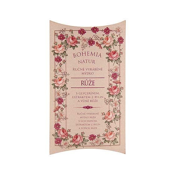 Bohemia Natur - ručne vyrobené mydlo 100g - rose