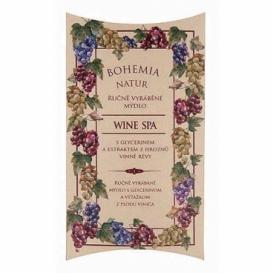 Bohemia Natur - ručně vyrobené mýdlo 100 g - Wine Spa