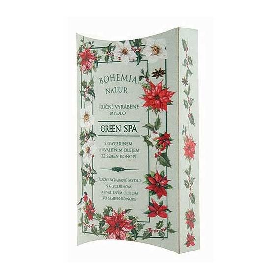 Bohemia Natur - ručne vyrobené mydlo 100 g - Zelená Spa