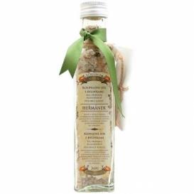 Soľ do kúpeľa s bylinkami s harmančekom v skle 260 g